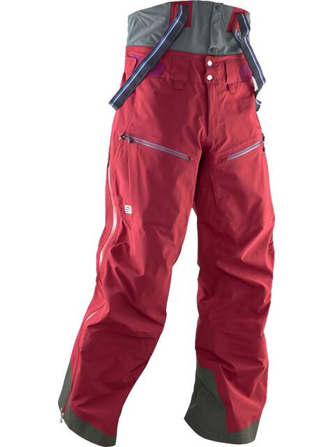 Elevenate M's Bec de Rosses Pant Beetroot Red